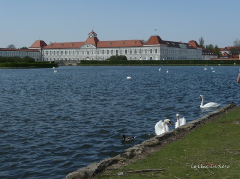 The beautiful Nymphenburg Palace and Grounds