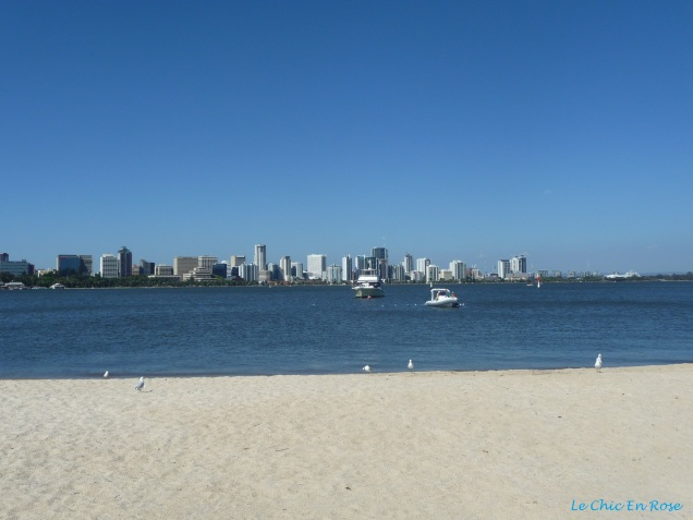 View of the River Swan at South Perth