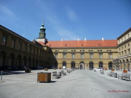 Entrance to the Residenz - the imperial home of the Wittelsbach dynasty who ruled Bavaria for many centuries