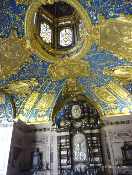 Royal Chapel at the Residenz - the ceiling decorations were stunning!