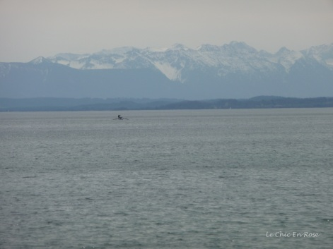 View of the Alps from Starnberger See