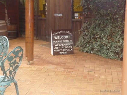 Woody Nook Winery cellar door sales near Margaret River Western Australia