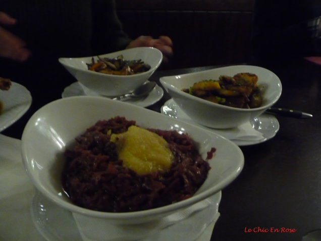 Side dishes at Zum Duernbraeu Munich