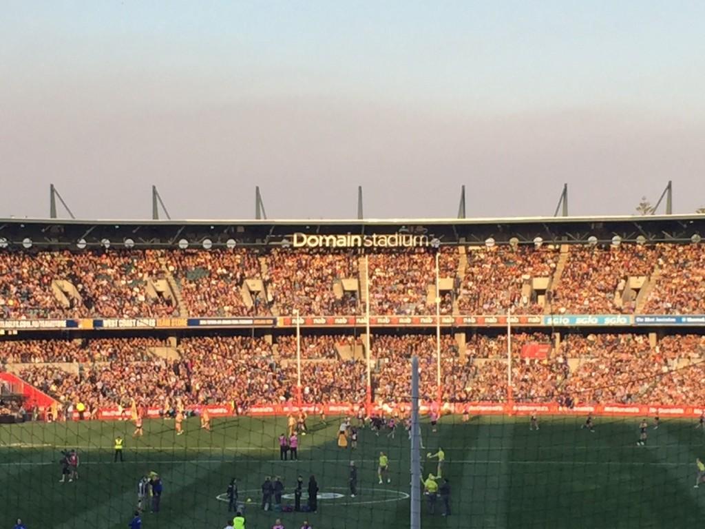 Domain Stadium Subiaco Western Australia AFL Preliminary Final 2015