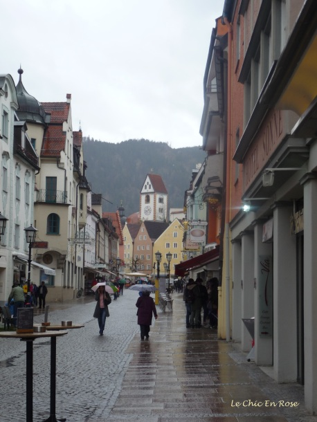 Main street Fuessen