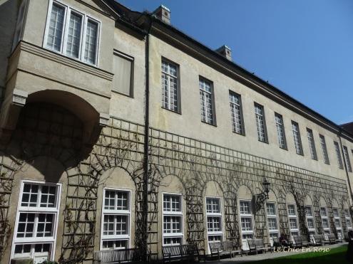 Gardens approaching the Residenz Museum