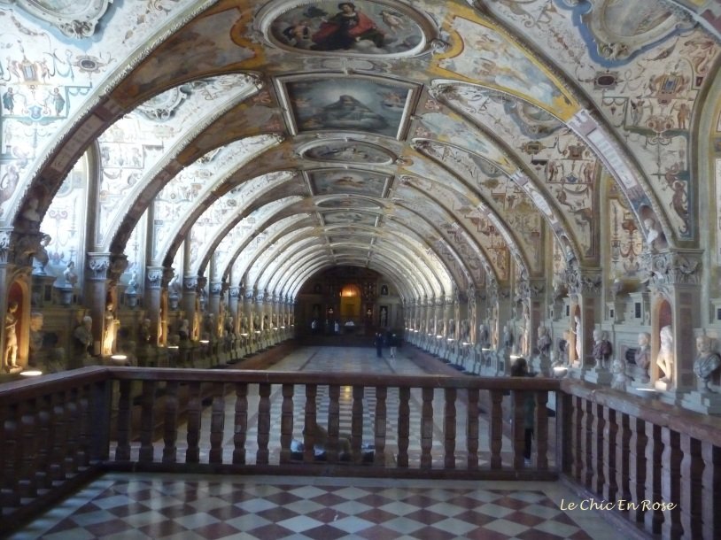The magnificent Antiquarium Munich Residenz