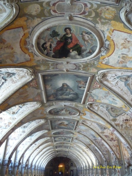 Ceiling detail of the Antiquarium