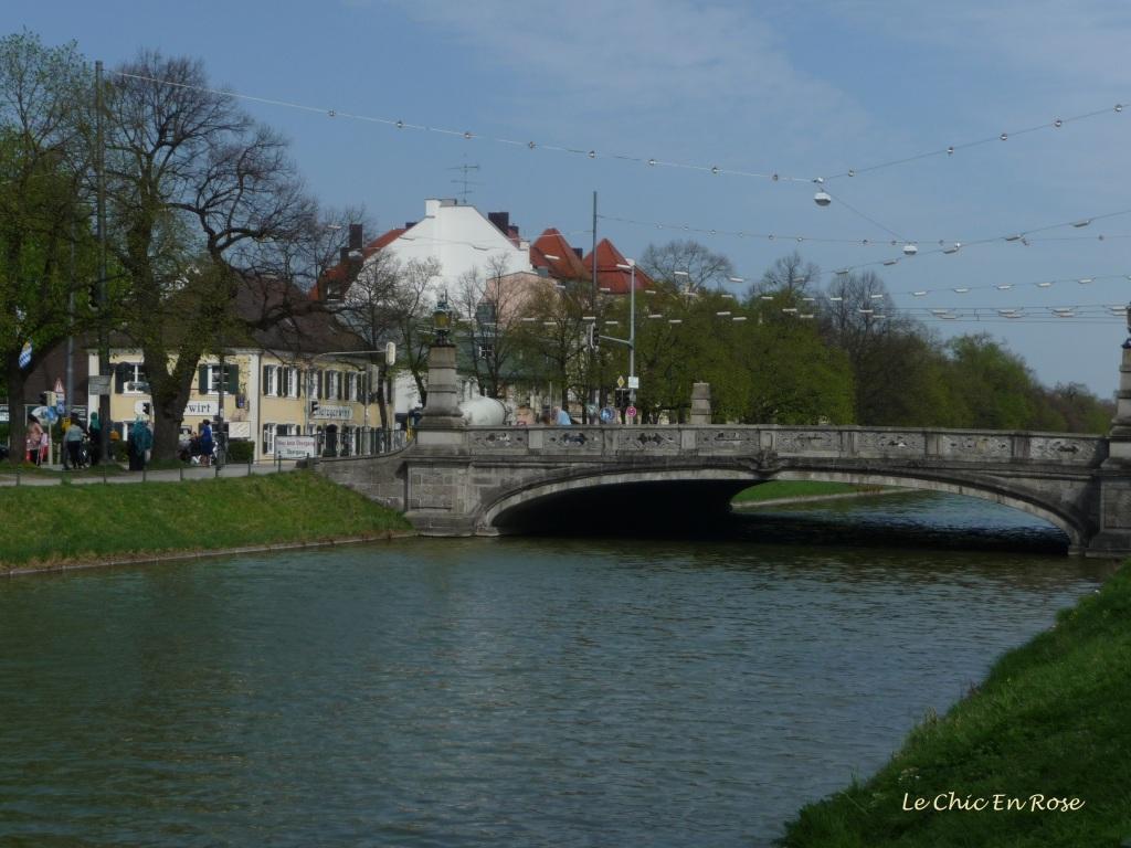 Canal near Nymphenburg Palace
