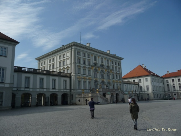 The main palace building