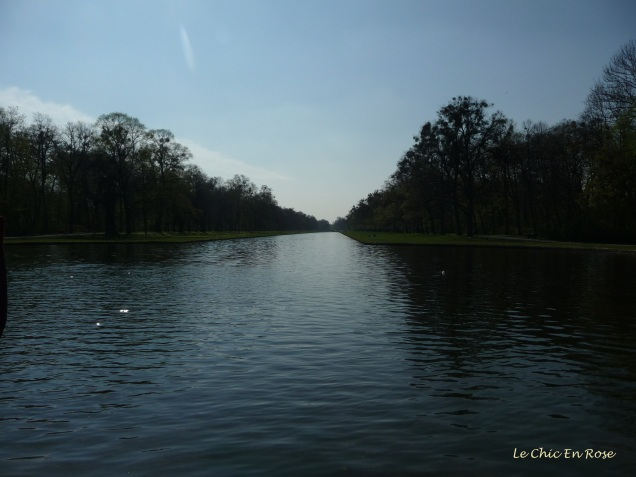 Central canal in the Nymphenburg Palace Park