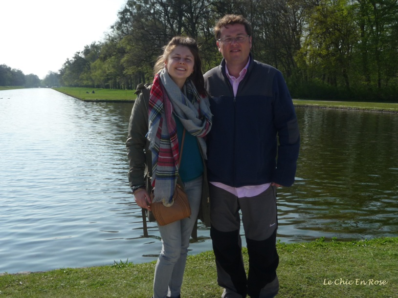 Monsieur Le Chic and Mlle in the Nymphenburg Park