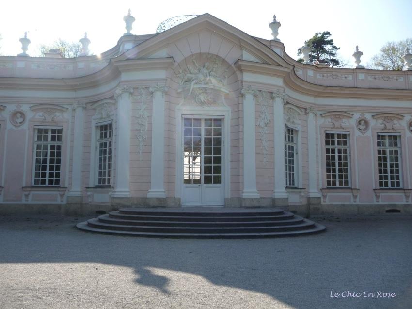 Amalienburg Hunting Lodge in the Nymphenburg Palace Park
