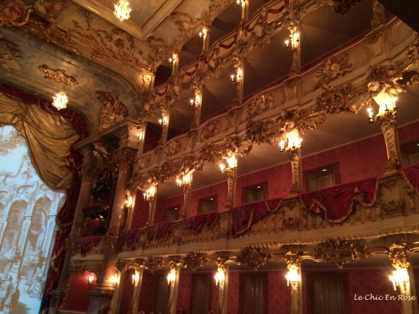 The exquisitely pretty Cuvilliés-Theater Munich Residenz