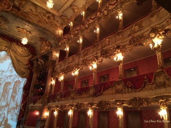 The exquisitely pretty Cuvilliés-Theater Munich Residenz
