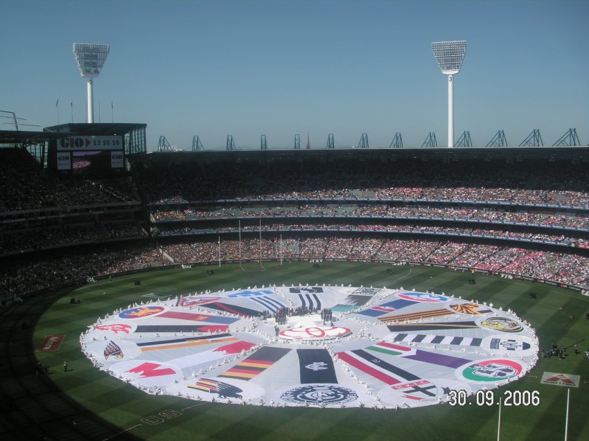 MCG before the start of the Grand Final