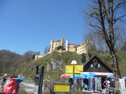 Hohenschwangau Castle - a summer residence of the Bavarian kings in the Alps