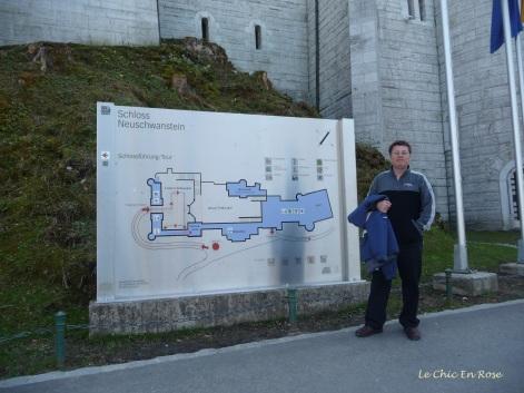 Monsieur Le Chic at Neuschwanstein