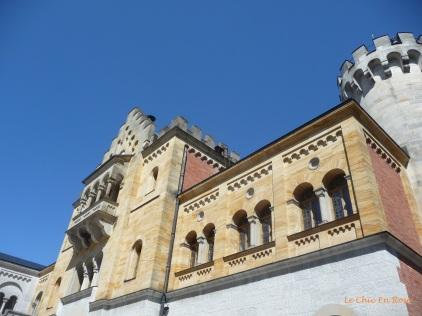 Parapets and arches Neuschwanstein