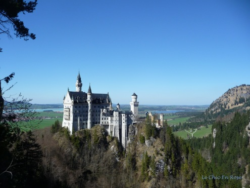 Neuschwanstein taken from the Marienbruecke
