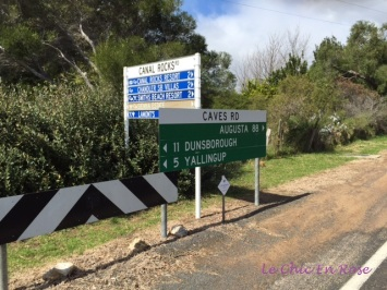 Cape Lavender is on the corner of Caves Road and Canal Rocks Road