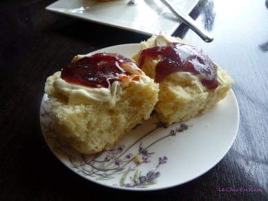Devonshire tea - always a good option!