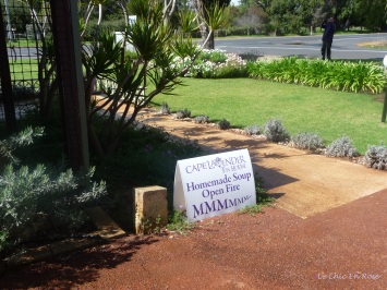 Entrance Sign Cape Lavender