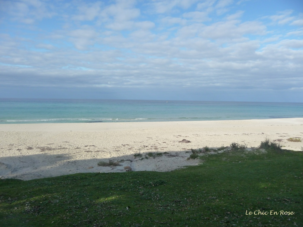 Calm blue waters at Meelup Beach South West WA
