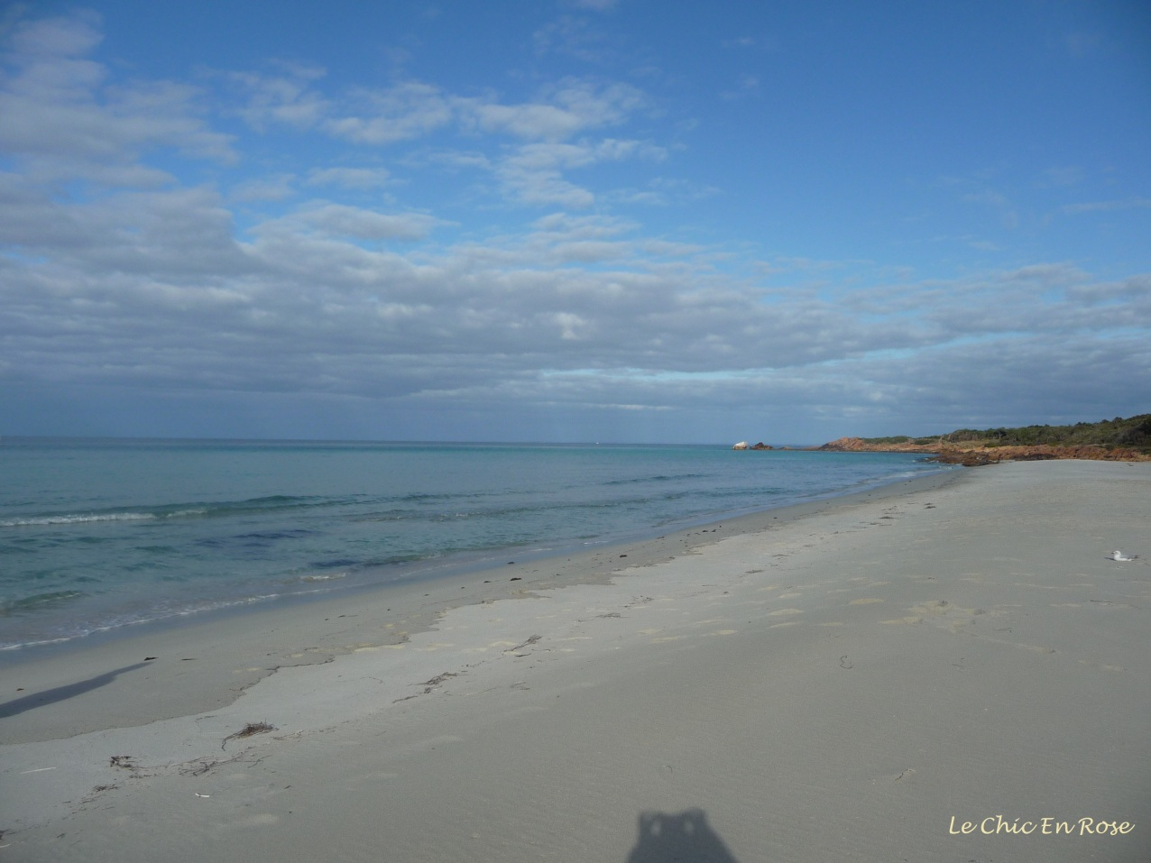 The peaceful and serene Geographe Bay at Meelup Beach