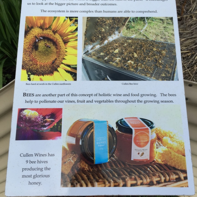 Details of bee keeping at Cullen
