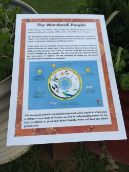 Acknowledgement of the Wardandi People in the South West Region