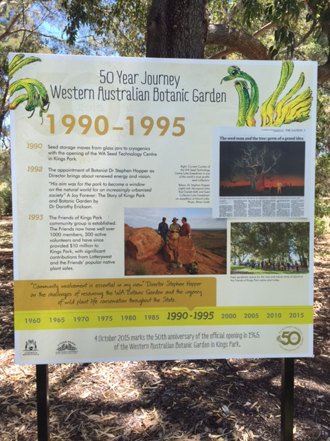 History of Kings Park 1990- 1995. We first arrived in Perth from the UK in October 1990!