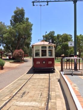 Tram at Whiteman Park