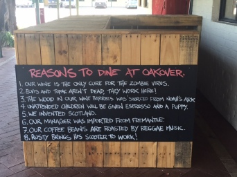 Reasons to visit Oakover according to the staff!