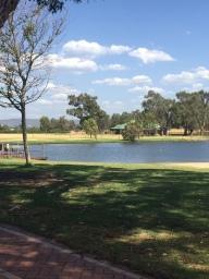 Oakover Estate lake in the Swan Valley Perth