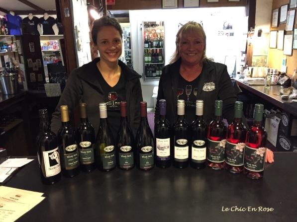 "The helpful staff at Woody Nook Cellar Door and the ""mixed dozen"""