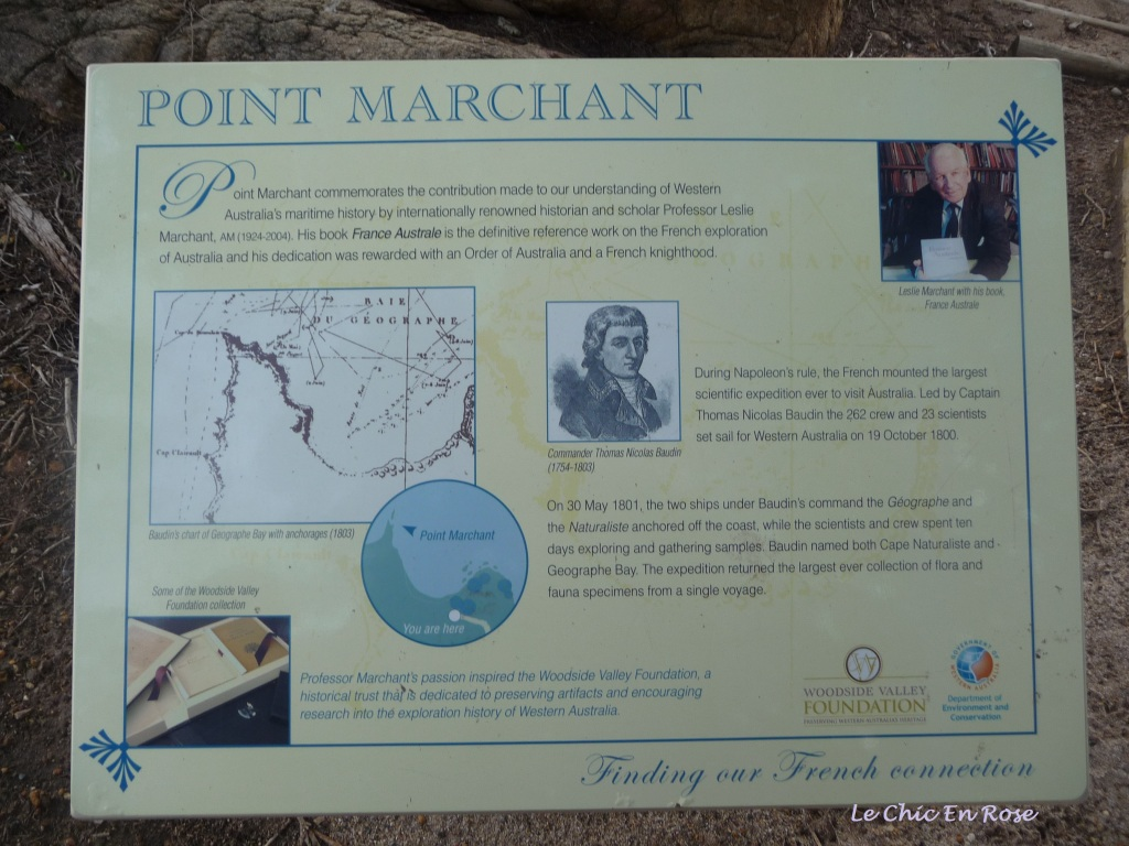 Information about Bunker Bay and Point Marchant South Western WA