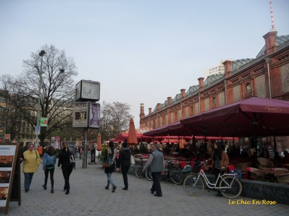 Cafes and restaurants Hackescher Markt