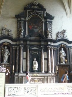 Church Of Our Lady Bruges - statue of Madonna by Michelangelo