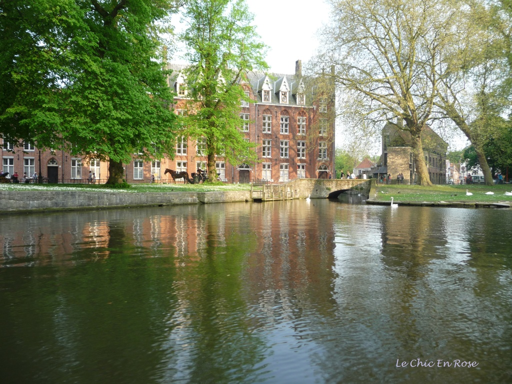 Bruges in the spring