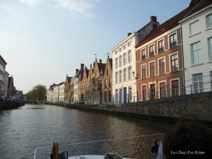 Merchants' houses line the canals