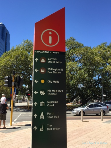 Getting your bearings! Directions from Elizabeth Quay station