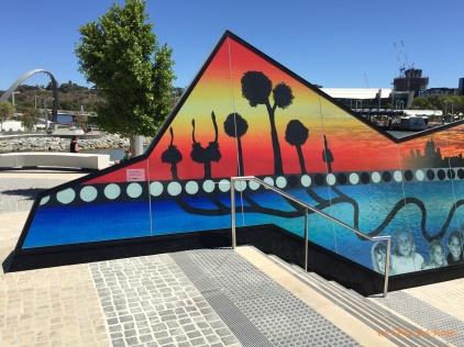 Bringing together Perth - artwork at Elizabeth Quay