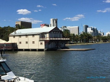 Old Perth Boat House down on the river front
