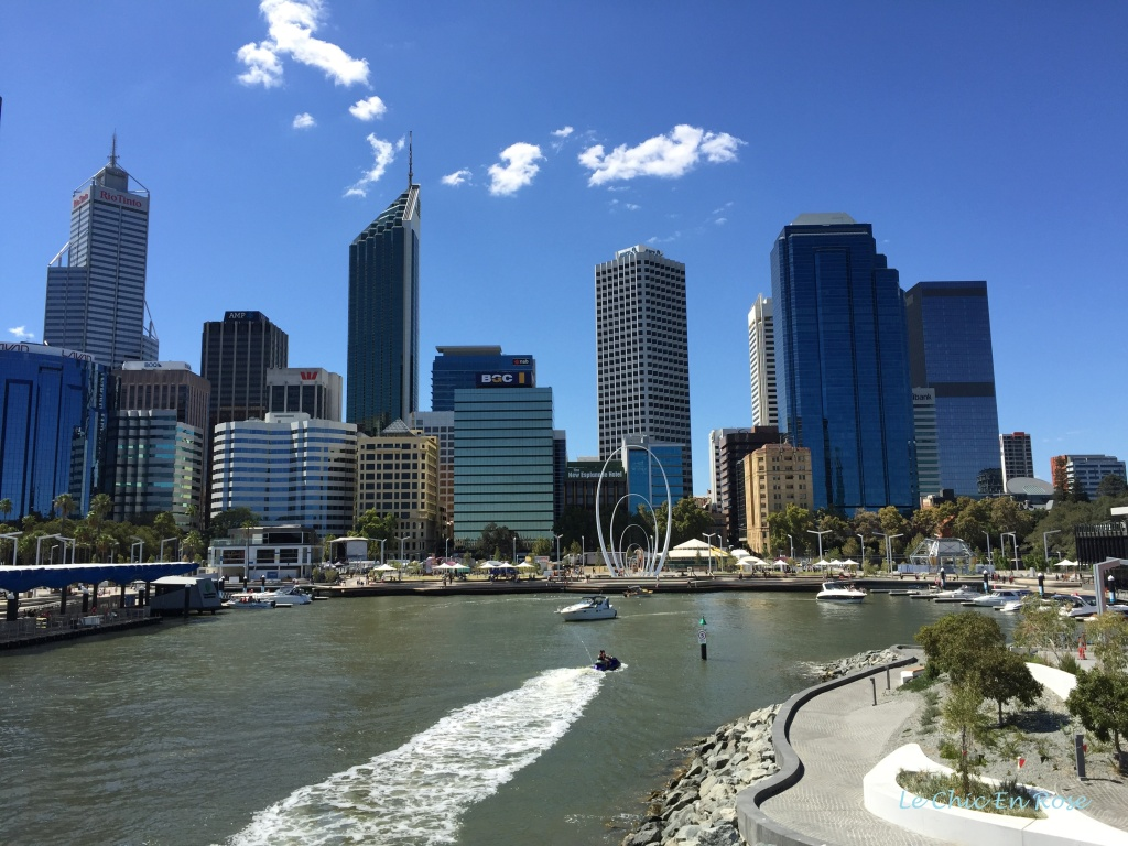 View of Perth from Elizabeth Quay