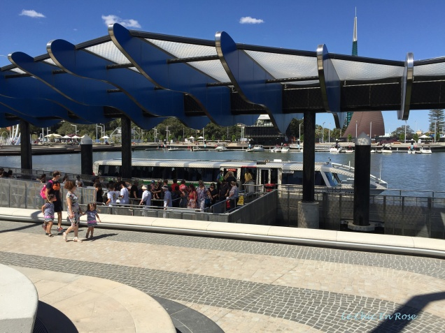 Ferry terminal Elizabeth Quay