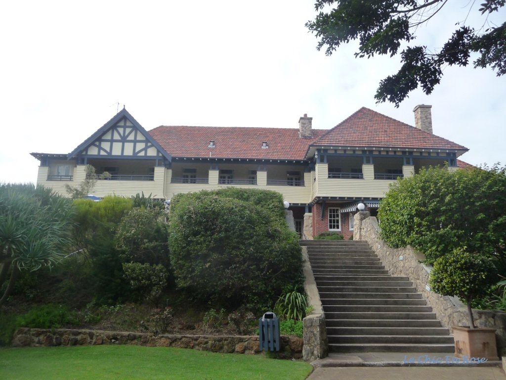 Caves House Hotel Yallingup viewed from the back of the property