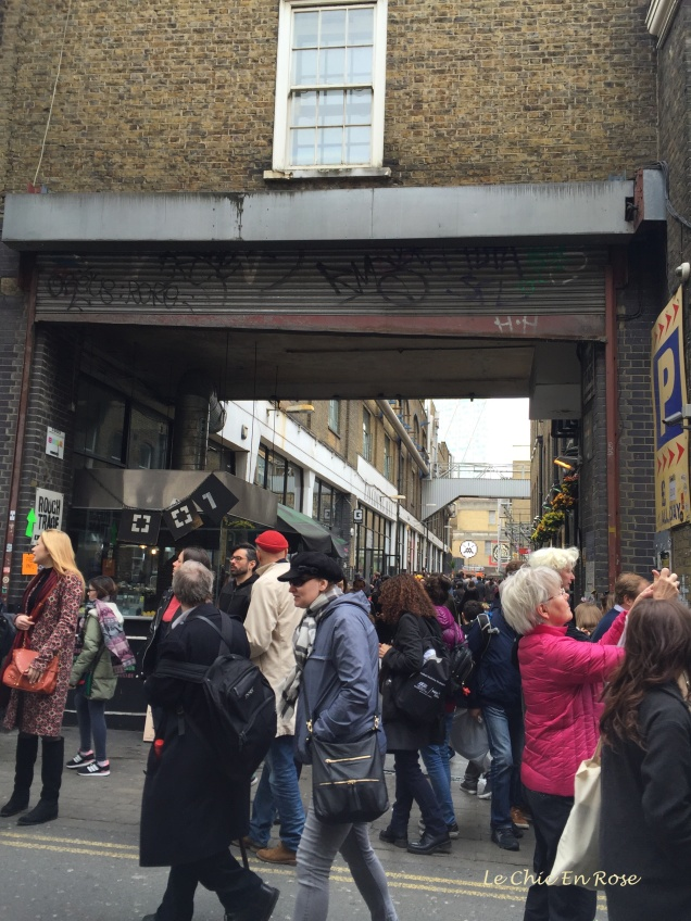 Street scene Brick Lane London