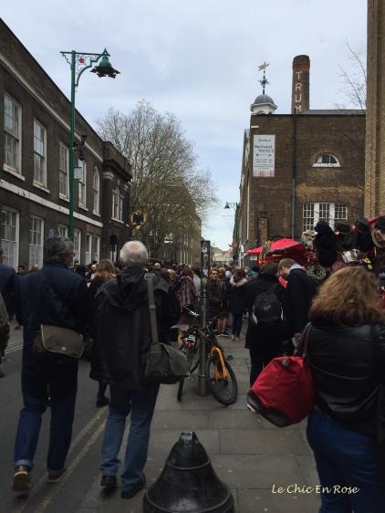 Brick Lane heading towards the Backyard Market
