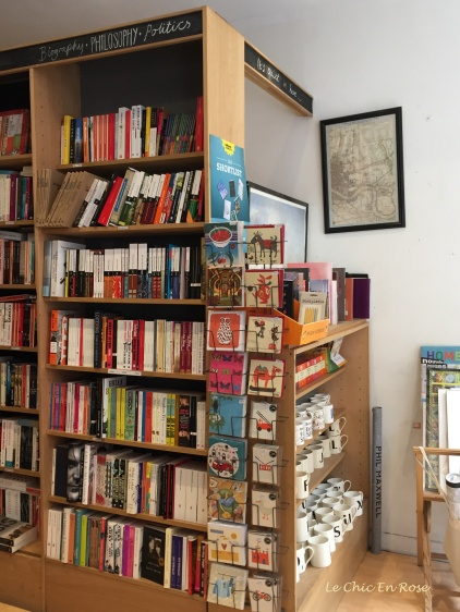 Book and stationery selection at the Brick Lane Bookshop